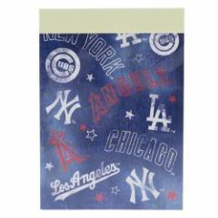 メジャーリーグベースボール メモ帳 ミニミニメモ ミックス MLB 新学期準備雑貨 キャラクター グッズ メール便可