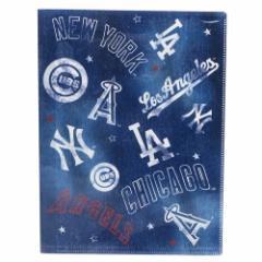 メジャーリーグベースボール ファイル 10ポケット A4 クリアファイル ミックス MLB 新学期準備雑貨 キャラクター グッズ
