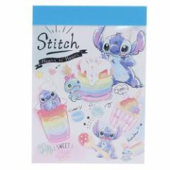 スティッチ メモ帳 ミニミニメモ POP SWEETS ディズニー 新学期準備雑貨 キャラクター グッズ メール便可