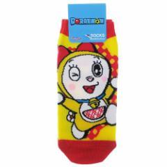 ドラえもん 女性用 靴下 レディース ソックス ドラミちゃんPOP 23〜25cm アニメキャラクター グッズ メール便可
