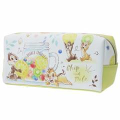 チップ & デール 筆箱 BOX ペンケース フルーツ ディズニー 小学生 中学生 文房具 キャラクター グッズ
