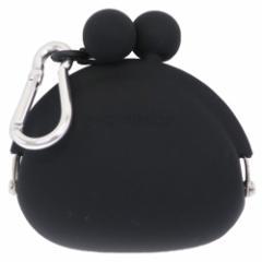 小銭入れ POCHIBI ブラック コインケース カラビナ付き 小物入れ ファッション グッズ