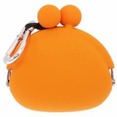 小銭入れ POCHIBI オレンジ コインケース カラビナ付き 小物入れ ファッション グッズ