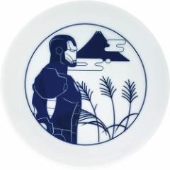 アイアンマン ミニプレート 小皿 富士 マーベル 食器 キャラクター グッズ