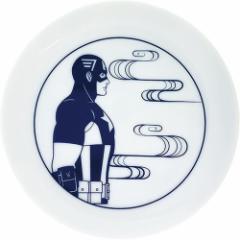 キャプテンアメリカ ミニプレート 小皿 雲 マーベル 食器 キャラクター グッズ