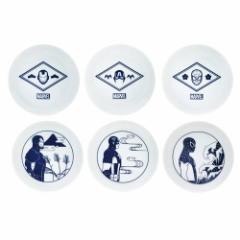 マーベル ミニプレート 小皿 6枚セット B 食器 キャラクター グッズ