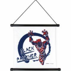 マーベル 壁掛け ハンカチ タペストリー ブラックパンサー インテリアアート キャラクター グッズ