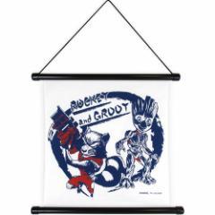 マーベル 壁掛け ハンカチ タペストリー ガーディアンズオブギャラクシー インテリアアート キャラクター グッズ
