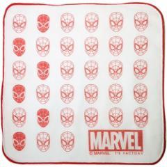 マーベル ハンドタオル ミニハンカチ スパイダーマンアイコン お手拭きタオル キャラクター グッズ メール便可