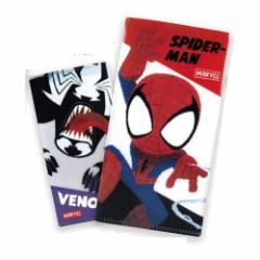 スパイダーマン & ヴェノム ミニ ファイル チケットホルダー グリヒル マーベル チケットケース キャラクター グッズ メール便可