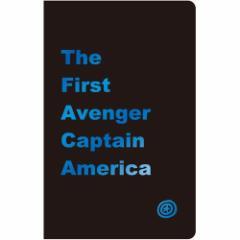 キャプテンアメリカ 横罫 ノート 箔押し ノート マーベル 文房具 キャラクター グッズ メール便可