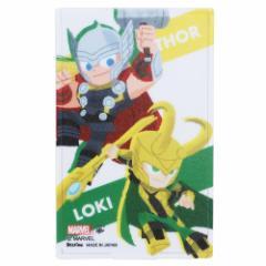MARVEL × GuriHiru 手鏡 ミニミラー ロキ&ソー マーベル 5.5×8.5cm キャラクター グッズ メール便可