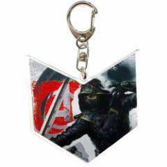 アベンジャーズ4 エンドゲーム 両面アクリル キーホルダー キーリング マーベル コレクション雑貨 キャラクター グッズ メール便可