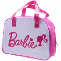 バービー プールバッグ ビニール ボストンバッグ ピンク Barbie 海プール サマーレジャー用品 キャラクター グッズ