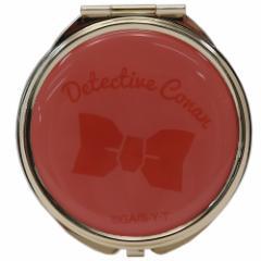 名探偵コナン 手鏡 コンパクトダブルミラー 江戸川コナン 直径7cm アニメキャラクター グッズ メール便可