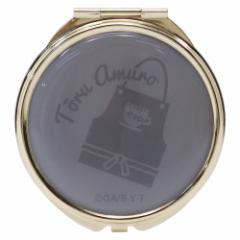 名探偵コナン 手鏡 コンパクトダブルミラー 安室透 直径7cm アニメキャラクター グッズ メール便可