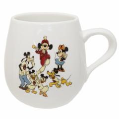 ミッキーマウス マグカップ まんまるマグ MICKEY MOUSE CLUB チラシ ディズニー 430ml キャラクター グッズ