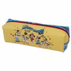 ミッキーマウス 筆箱 ロングポーチ MICKEY MOUSE CLUB ディズニー 20×7×6cm キャラクター グッズ