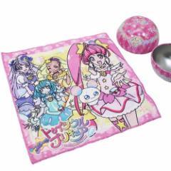 スタートゥインクルプリキュア ミニタオル 球缶入り マルチクロス ピンク 25×25cm アニメキャラクター グッズ