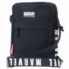 MARVEL ショルダーバッグ スクエアショルダー M ショルダーロゴ マーベル 15.5×23×7.5cm キャラクター グッズ