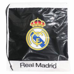 レアルマドリード ビニールバッグ ポリ ナップサック サッカー 43×47×9cm キャラクター グッズ メール便可
