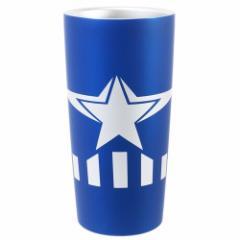 キャプテンアメリカ 保温 保冷 コップ 真空 ステンレスタンブラー S3 ブルー マーベル 440ml キャラクター グッズ