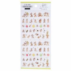 チップ&デール シールシート KIRATTO MARK SEAL ディズニー 手帳デコ キャラクター グッズ メール便可