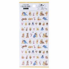 くまのプーさん シールシート KIRATTO MARK SEAL ディズニー 手帳デコ キャラクター グッズ メール便可
