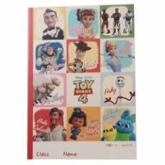 トイストーリー 4 方眼ノート B5 学習 ノート 3D ディズニー 新学期準備雑貨 キャラクター グッズ メール便可
