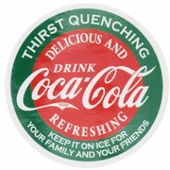 コカコーラ ステッカー ダイカット ビッグ シール 23014 Coca-Cola おしゃれ キャラクター グッズ メール便可