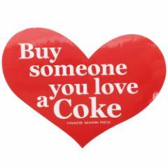 コカコーラ ステッカー ダイカット ビッグ シール 23137 Coca-Cola おしゃれ キャラクター グッズ メール便可
