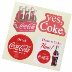 コカコーラ ビッグ シール ダイカット ステッカー 23175 Coca-Cola おしゃれ キャラクター グッズ メール便可