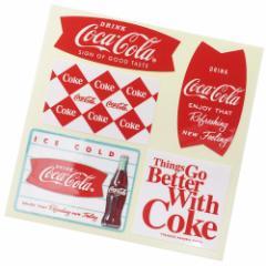 コカコーラ ビッグ シール ダイカット ステッカー 23182 Coca-Cola おしゃれ キャラクター グッズ メール便可