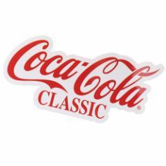 コカコーラ ビッグ シール ダイカット ステッカー 695966 Coca-Cola おしゃれ キャラクター グッズ メール便可