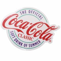コカコーラ ビッグ シール ダイカット ステッカー 695973 Coca-Cola おしゃれ キャラクター グッズ メール便可