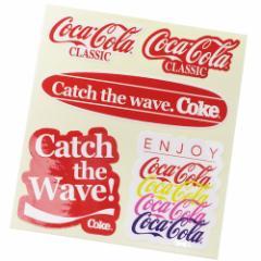 コカコーラ ビッグ シール ダイカット ステッカー 696055 Coca-Cola おしゃれ キャラクター グッズ メール便可