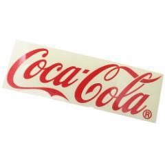 コカコーラ ビッグ シール カッティング ステッカー ロゴ Coca-Cola おしゃれ キャラクター グッズ メール便可