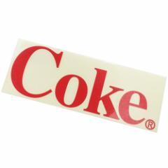コカコーラ ビッグ シール カッティング ステッカー COKE Coca-Cola おしゃれ キャラクター グッズ メール便可