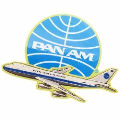 パンアメリカン航空 ステッカー ダイカット 防水 パンナム シール 697199 PAN AM おしゃれ キャラクター グッズ メール便可