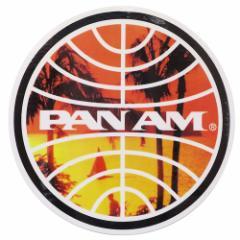 パンアメリカン航空 ステッカー ダイカット 防水 パンナム シール 697243 PAN AM おしゃれ キャラクター グッズ メール便可