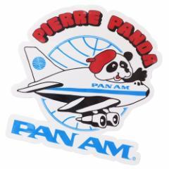 パンアメリカン航空 パンナム シール ダイカット 防水 ステッカー 697298 PAN AM おしゃれ キャラクター グッズ メール便可