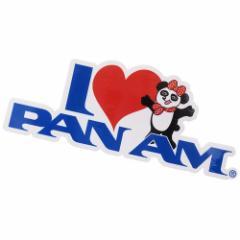 パンアメリカン航空 パンナム シール ダイカット 防水 ステッカー 697311 PAN AM おしゃれ キャラクター グッズ メール便可