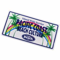 ステッカー ダイカット 防水 on the Beach ビッグ シール 699056 おしゃれ キャラクター グッズ メール便可