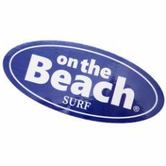 ステッカー ダイカット 防水 on the Beach ビッグ シール 699117 おしゃれ キャラクター グッズ メール便可