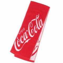 コカコーラ マフラータオル ジャガード スリムロングタオル 今治タオル おやつマーケット 20×110cm キャラクター グッズ
