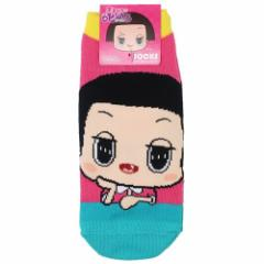 チコちゃんに叱られる 女性用 靴下 レディース ソックス チコちゃんほおずえ NHK 23〜25cm キャラクター グッズ メール便可