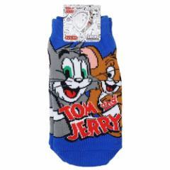 トムとジェリー 子供用 靴下 キッズ ソックス なかよし 13〜18cm キャラクター グッズ メール便可