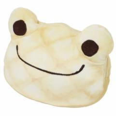 かえるのピクルス ミニポーチ メロンパンポーチ 森のパン屋さん 16×14×8cm キャラクター グッズ