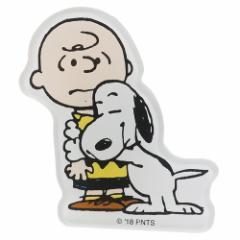 スヌーピー マグネット マグネッツ アクリル スヌーピー&チャーリーブラウン ピーナッツ 磁石 キャラクター グッズ メール便可