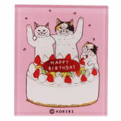 世にも不思議な猫世界 マグネット マグネッツ アクリル お誕生日 KORIRI 磁石 キャラクター グッズ メール便可